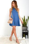 Tupelo Honey Blue Dress 2