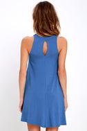 Tupelo Honey Blue Dress 4