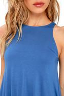 Tupelo Honey Blue Dress 5