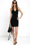 Will Always Love You Black Bodycon Dress 2
