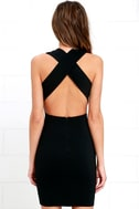 Will Always Love You Black Bodycon Dress 4