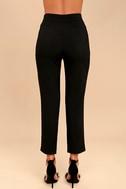 Kick It Black Trouser Pants 5