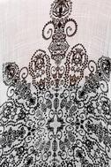 Exotic Sol Black and Grey Print Kimono Top 6