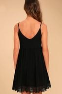 Rhiannon Black Lace Babydoll Dress 4