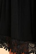 Rhiannon Black Lace Babydoll Dress 6