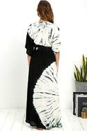 Needed Me Black Tie-Dye Maxi Dress 4