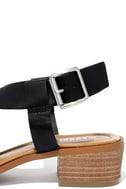 Madden Girl Tulum Black Heeled Sandals 6