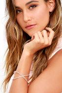 Extra Special Rose Gold Rhinestone Bracelet 2