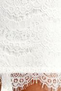 Take Me to Brunch Ivory Lace Shift Dress 6