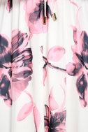 Infinite Love Ivory Floral Print Off-the-Shoulder Maxi Dress 6