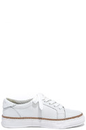 Sixtyseven 77704 Burna White Leather Sneakers 3