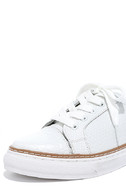 Sixtyseven 77704 Burna White Leather Sneakers 5