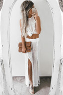 Lucy Love Sun Bum White Embroidered Pants 8
