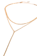 Sleek Inspirations Gold Layered Necklace 3