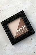 NYX Double Date Light Beige Cheek Contour Duo Palette 2