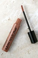 NYX Sandstorm Nude Liquid Suede Cream Lipstick 2