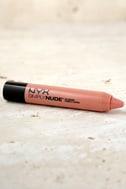 NYX Peaches Simply Nude Lip Cream 1