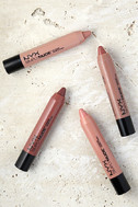 NYX Peaches Simply Nude Lip Cream 3