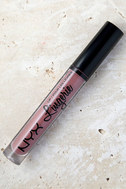NYX Embellishment Mauve Purple Lip Lingerie Liquid Lipstick 1