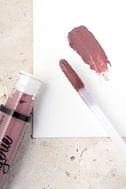 NYX Embellishment Mauve Purple Lip Lingerie Liquid Lipstick 2
