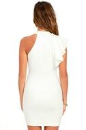 Au Revoir Ivory Bodycon Dress 4