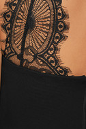 Endlessly Alluring Black Lace Bodycon Dress 6