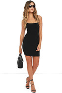 Flaunt It Black Bodycon Dress 3