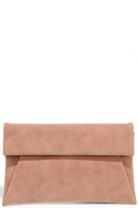 Curated Selection Blush Pink Clutch 2