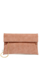 Curated Selection Blush Pink Clutch 3