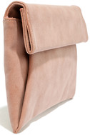 Curated Selection Blush Pink Clutch 4