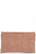 Curated Selection Blush Pink Clutch 5