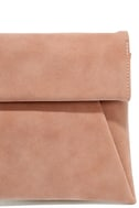 Curated Selection Blush Pink Clutch 6