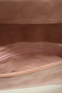 Curated Selection Blush Pink Clutch 7