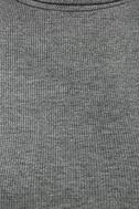 Phenomenal Feeling Grey Long Sleeve Bodycon Dress 6
