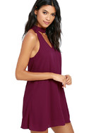 Groove Thing Magenta Swing Dress 3