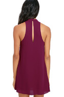 Groove Thing Magenta Swing Dress 4