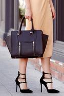 Wing-Woman Black Handbag 1