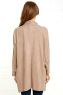 Dream Day Taupe Suede Jacket 4