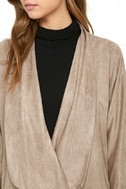 Dream Day Taupe Suede Jacket 5