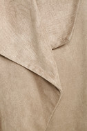 Dream Day Taupe Suede Jacket 6