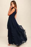 Simply Sweet Navy Blue Maxi Dress 3