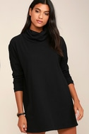 Scheme of Things Black Long Sleeve Dress 1