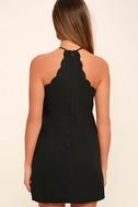 Endlessly Endearing Black Dress 4
