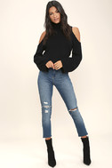 Spoiler Alert Black Turtleneck Sweater 2