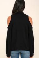 Spoiler Alert Black Turtleneck Sweater 4