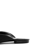 Chiavari Black Loafer Slides 7