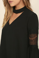 Step and Repeat Black Lace Long Sleeve Top 5