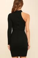 All I Half Black One Shoulder Dress 4