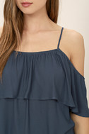 Exquisite Beauty Washed Blue Top 5