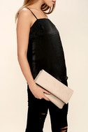 My Love is Your Love Light Blush Clutch 3